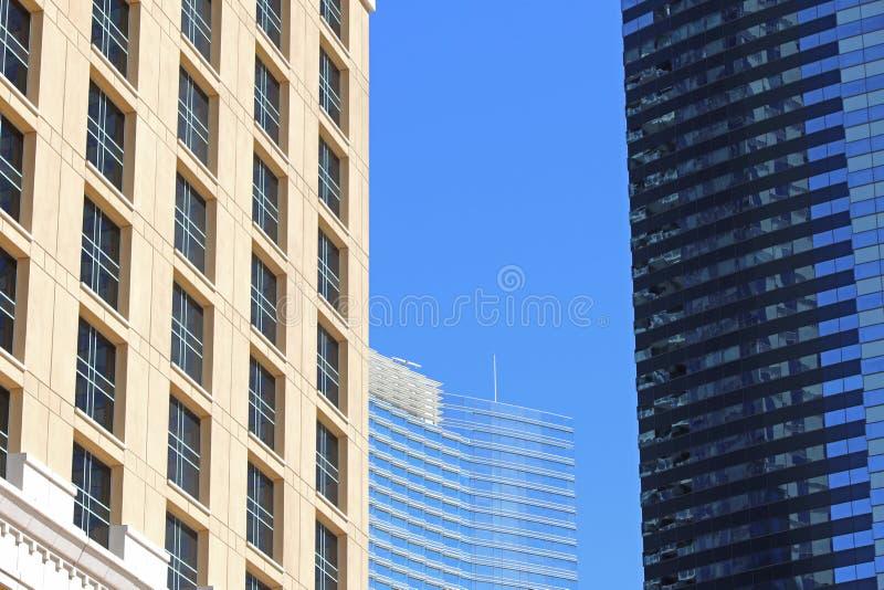 3 costruzioni moderne immagine stock