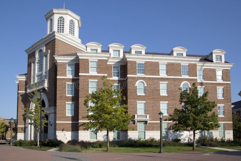 Costruzioni nella l campus universitario metodista del sud fotografie stock
