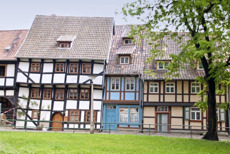 Costruzioni in Quedlinburg fotografia stock