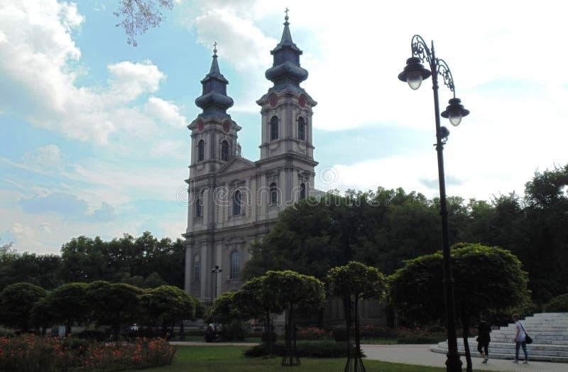 Costruzioni religiose/chiesa cattolica romana fotografia stock