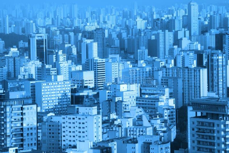 Costruzioni a Sao Paulo fotografia stock libera da diritti