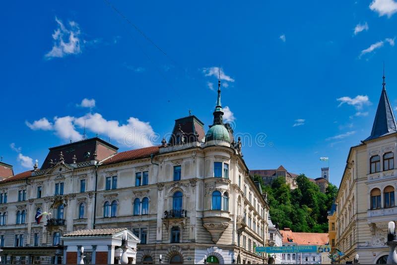 Costruzioni slovene storiche, Transferrina, Slovenia fotografia stock