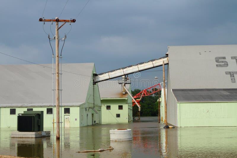 Costruzioni sotto acqua immagine stock libera da diritti