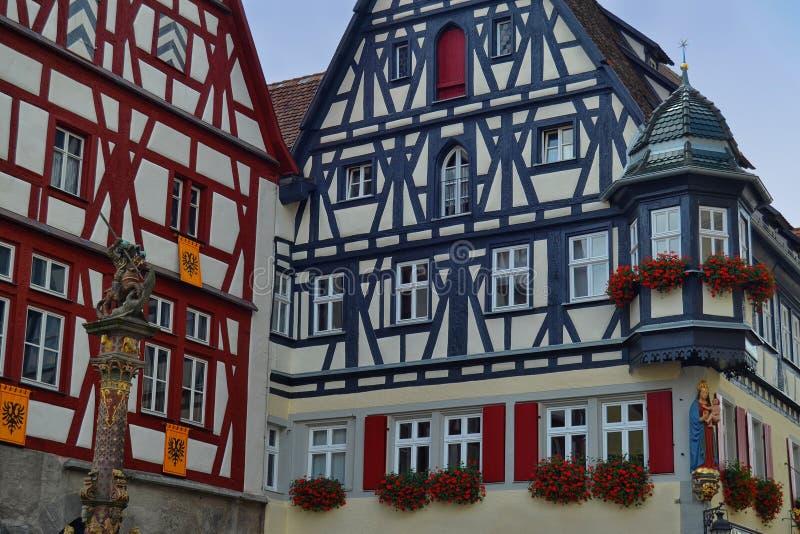 Costruzioni splendide in Germania immagini stock libere da diritti