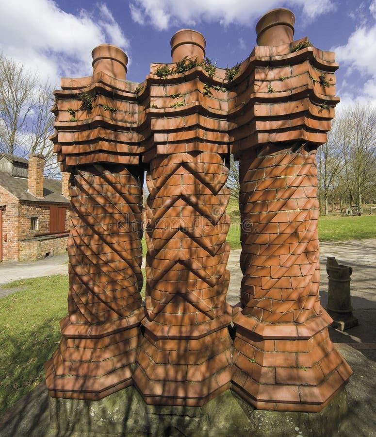 Costruzioni storiche Bromsgrove Worcestershire fotografie stock libere da diritti