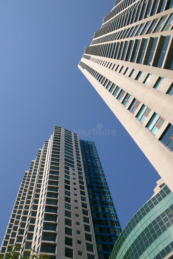 Costruzioni Toronto del centro fotografia stock libera da diritti