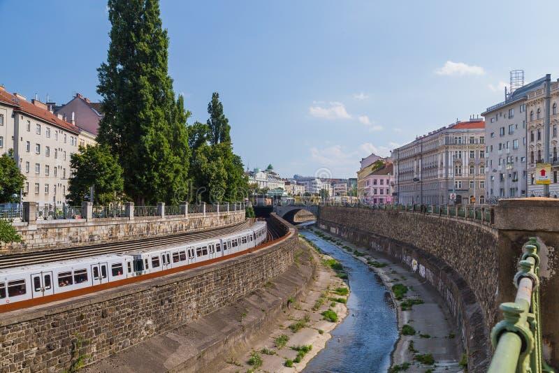 Costruzioni a Vienna immagine stock