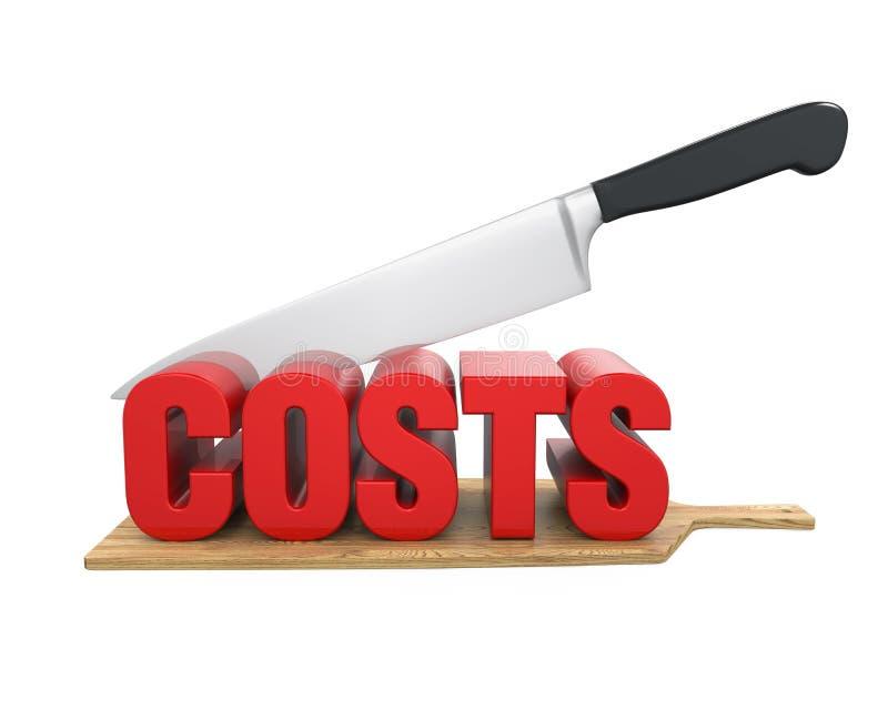 Costs Cuts Concept vector illustration