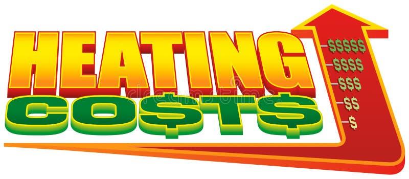 Download Costs Diagramuppvärmningsstigning Stock Illustrationer - Illustration av kostnad, stigning: 288536
