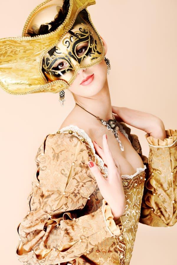 costume средневековый стоковая фотография rf