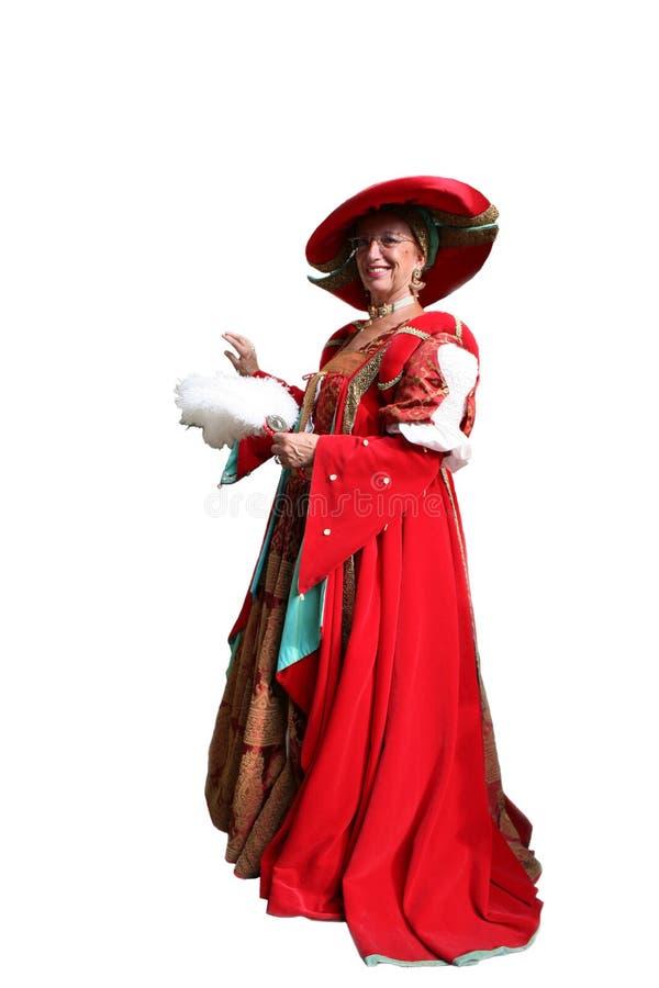 Costume baroque photo stock