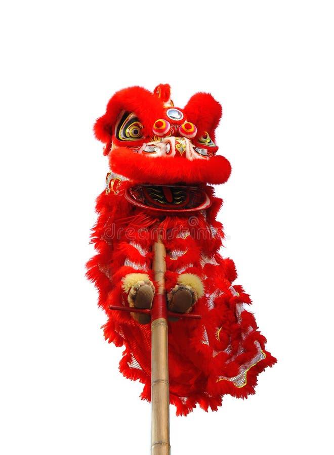 Costume chinois de lion photo libre de droits