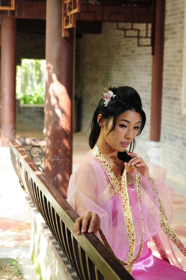 Costume cinese immagini stock