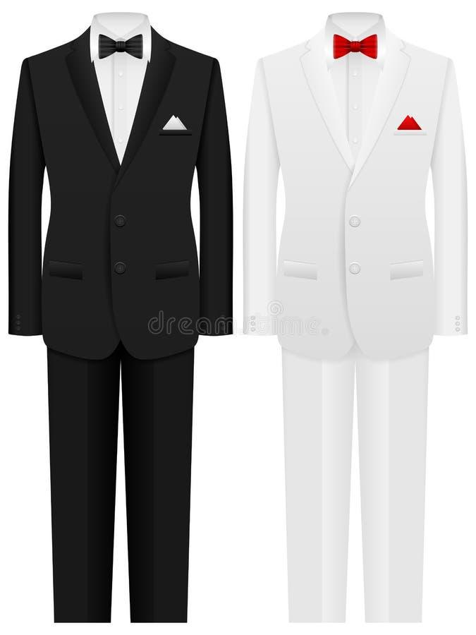 Costume d'homme illustration de vecteur