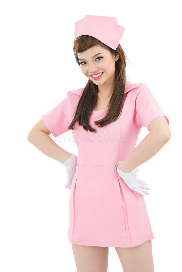 Costume d'infirmière photos stock