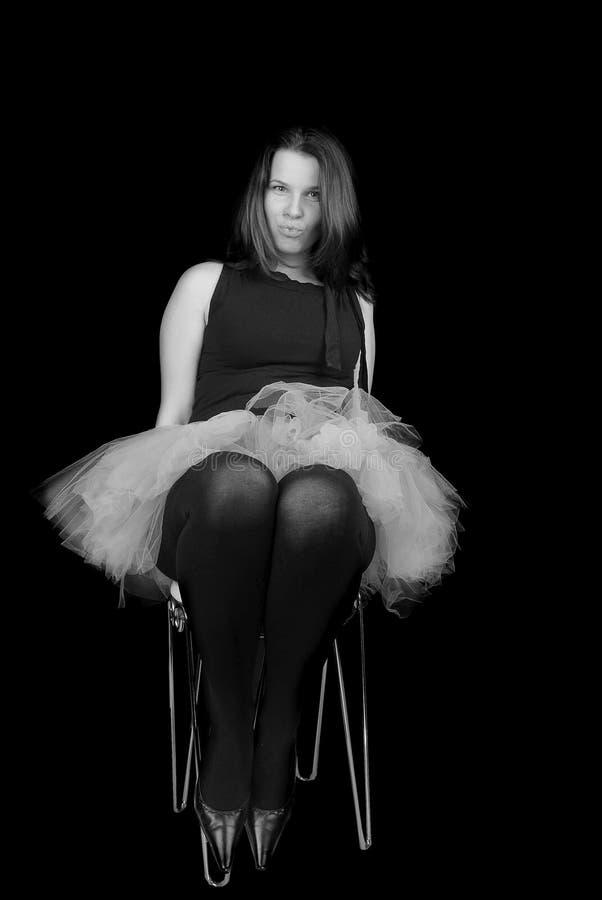 Costume de ballet de la femme I. photos stock
