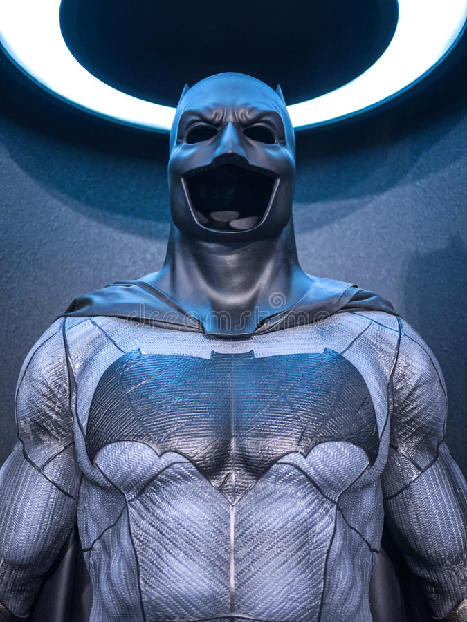 Costume de Batman images libres de droits