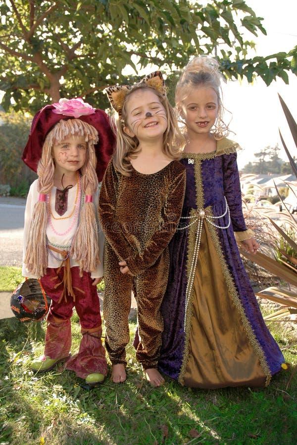 Costume de filles photo stock
