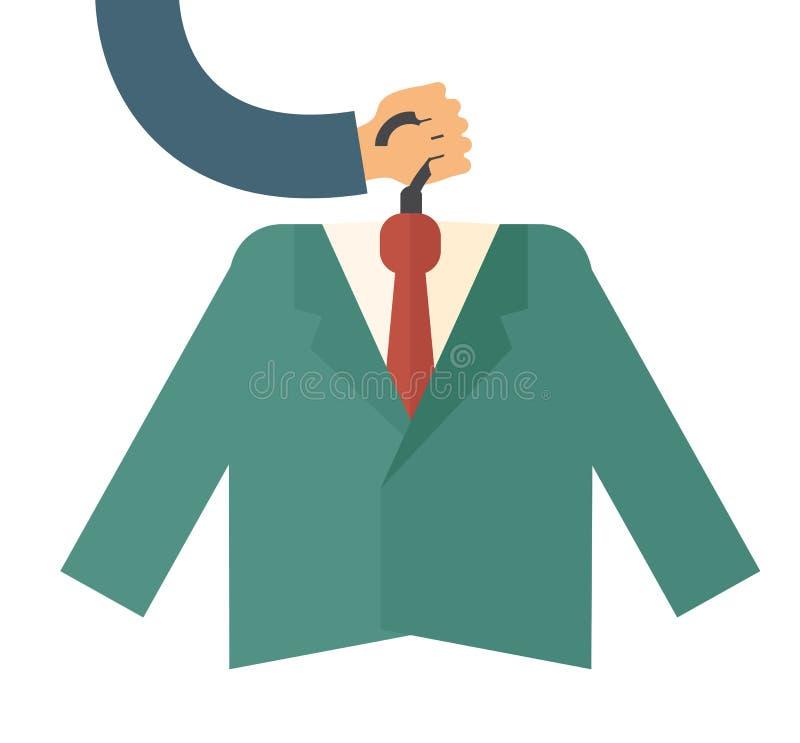 Costume de la meilleure qualité illustration stock