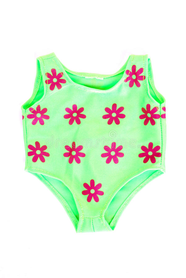 Costume de natation de chéri photographie stock libre de droits