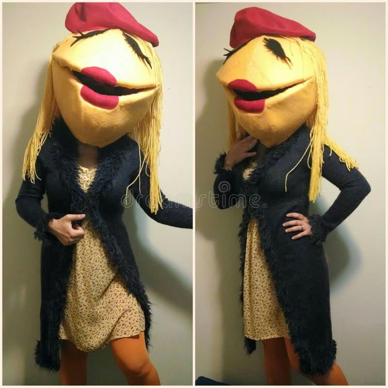 Costume di Janice Muppet fotografie stock libere da diritti