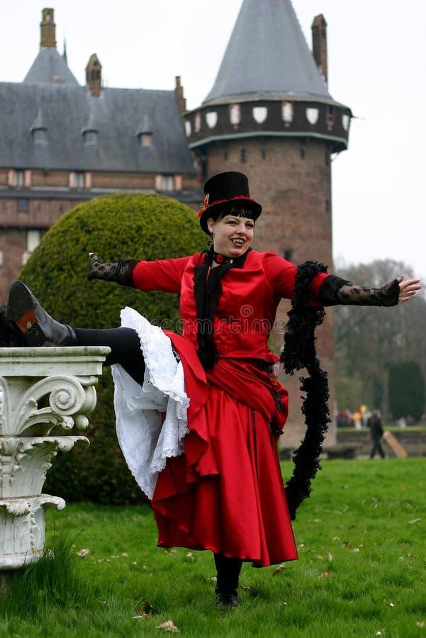 costume showing royaltyfria foton