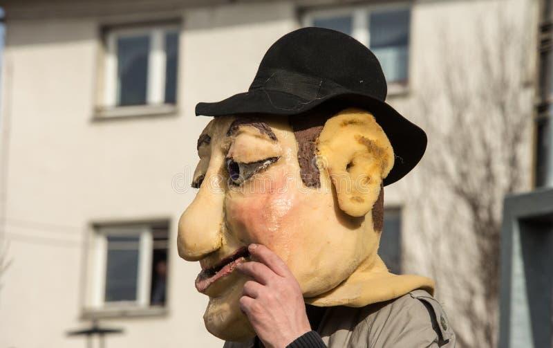 Download Costume Traditionnel De Carnaval Annuel De Cerknica En Slovénie Image stock - Image du groupe, homemade: 87708951