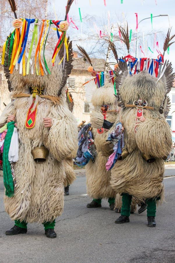 Download Costume Traditionnel De Carnaval Annuel De Cerknica En Slovénie Image stock - Image du vêtement, costume: 87709045