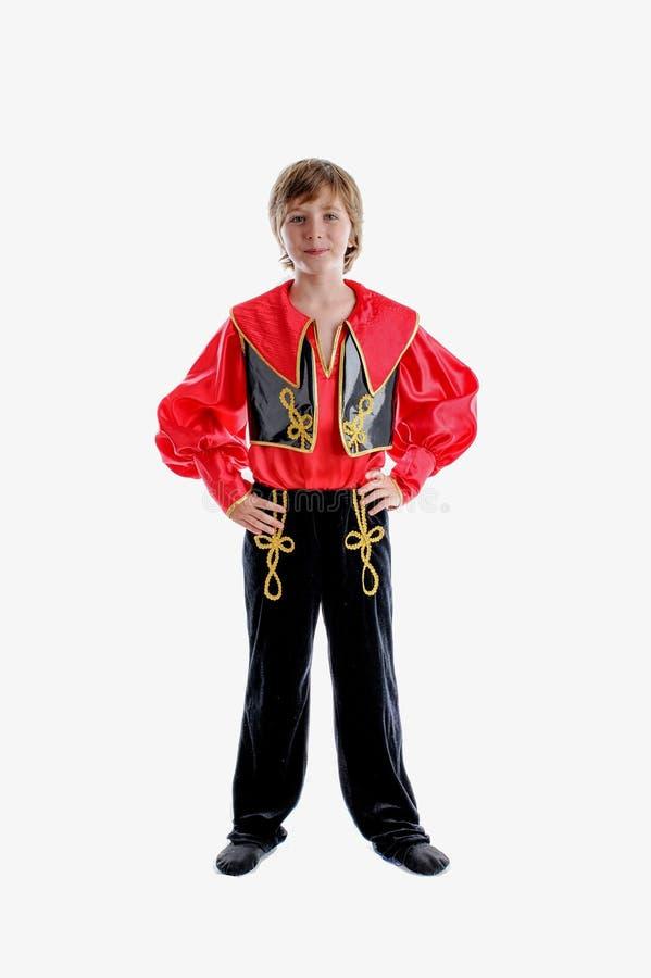 Costume tradizionale piega di carnevale fotografia stock libera da diritti