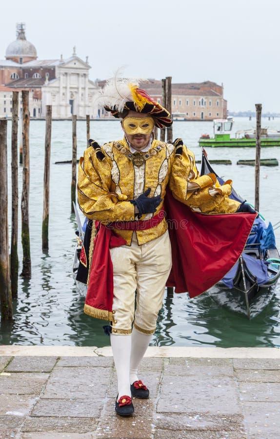 Costume veneziano immagine stock