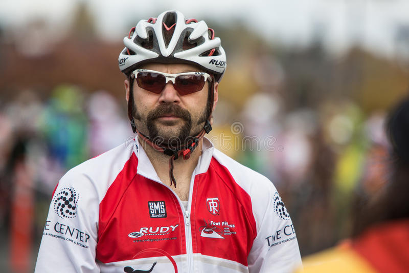 Costumed Bicycle Racer - Tim Jones Editorial Photography