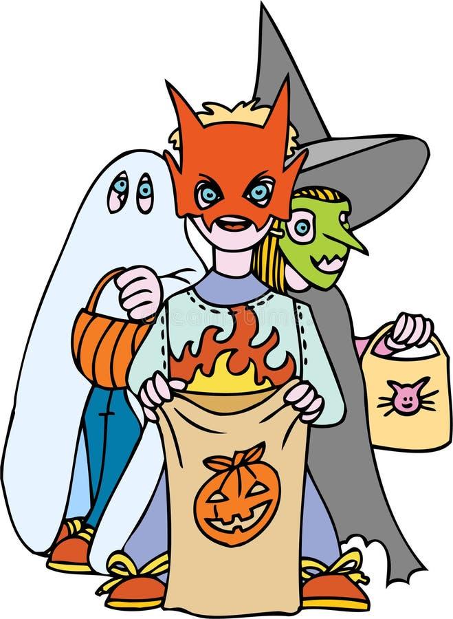 Download Costumed Children stock vector. Image of element, clipart - 9382845