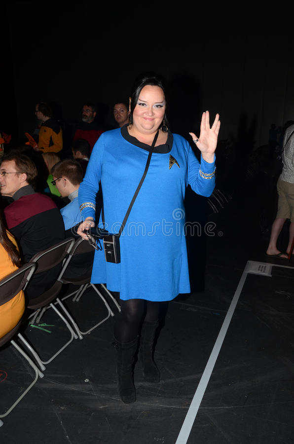 Download Costumed People At Destination Star Trek In  London Docklands 20 Editorial Photography - Image: 27808637