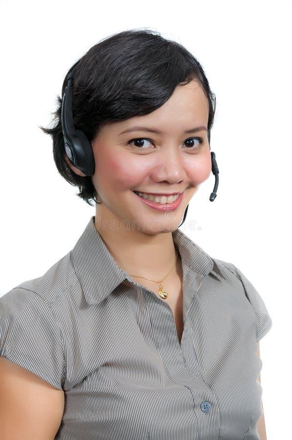 Costumer Service Agent stock photos