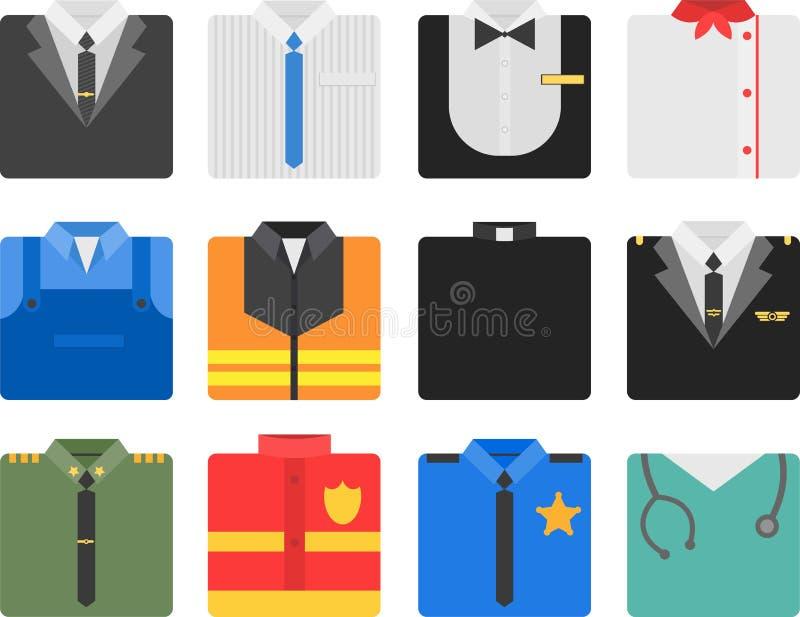 Costumes карьеры бесплатная иллюстрация