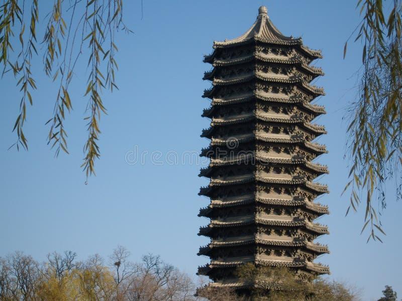 Costumes chineses. Estilo artístico foto de stock royalty free