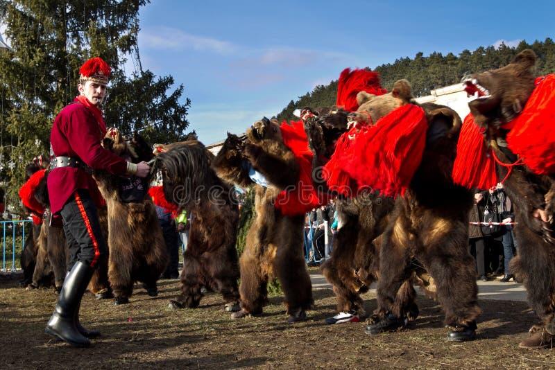 Costumes e tradições ancestrais do festival foto de stock