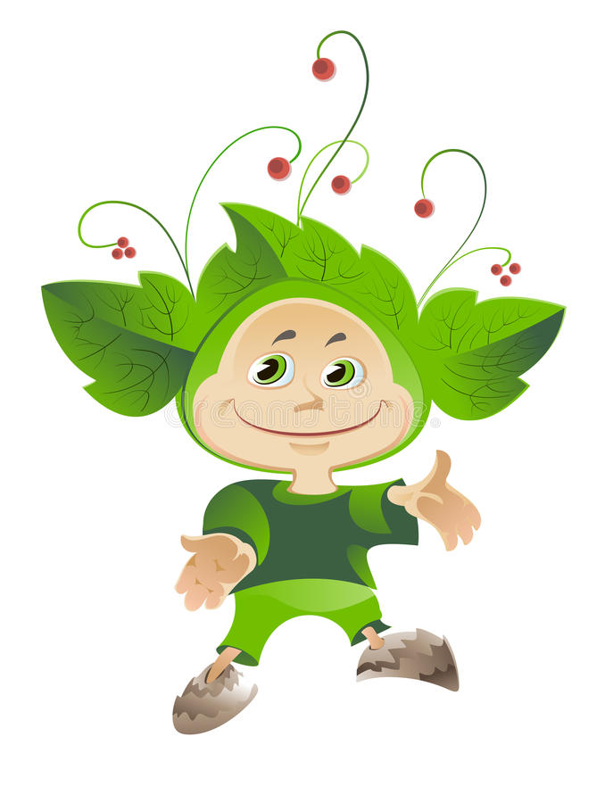 Download Costumes of forest berries stock illustration. Image of clip - 28306408