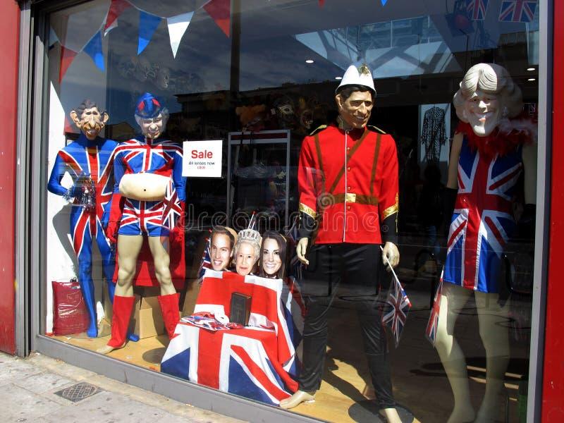 Costumi della famiglia reale fotografie stock libere da diritti