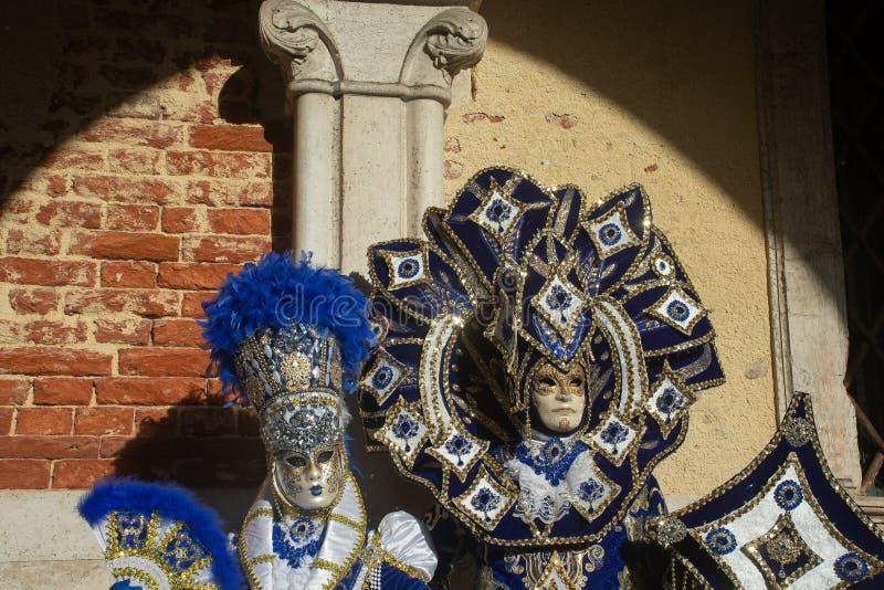 Costumi magnifici a Venezia, carnevale immagini stock libere da diritti