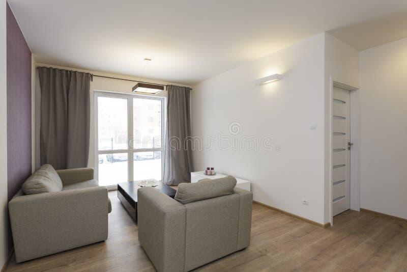 Cosy flat - living room royalty free stock photos