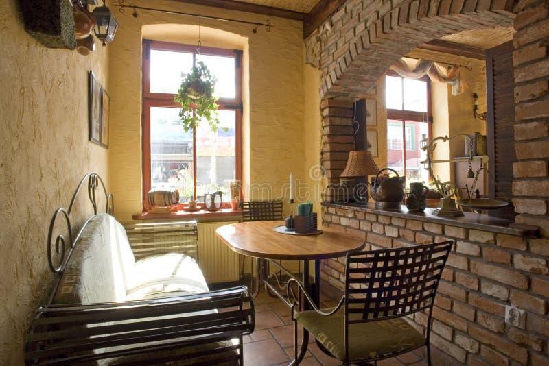 Cosy home corner royalty free stock photos