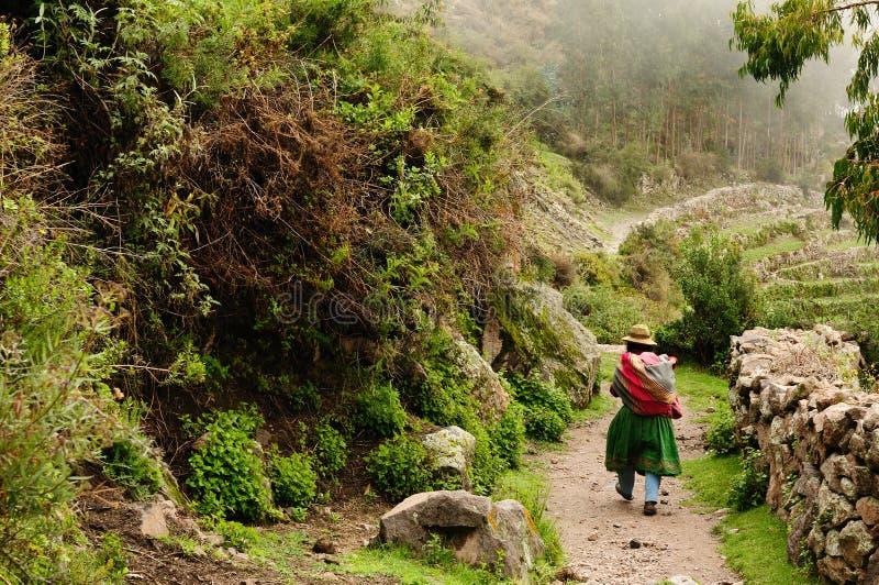 cotahuasi Περού φαραγγιών στοκ φωτογραφία