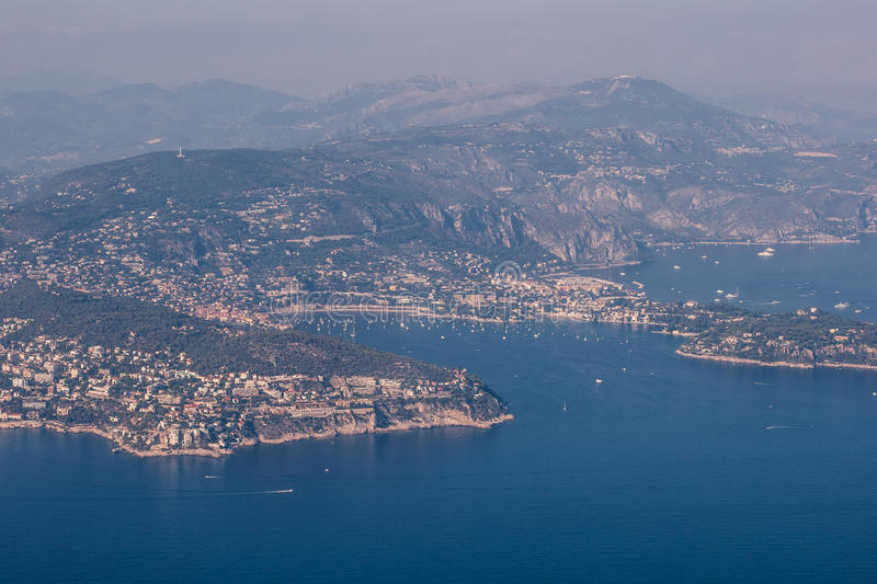 Cote d'Azur royalty free stock photography