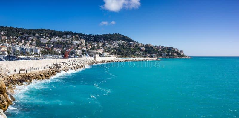 Franska Riviera arkivfoto