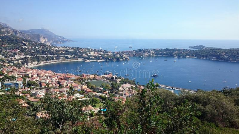 Cote d`Azur. Sea, nice royalty free stock photo