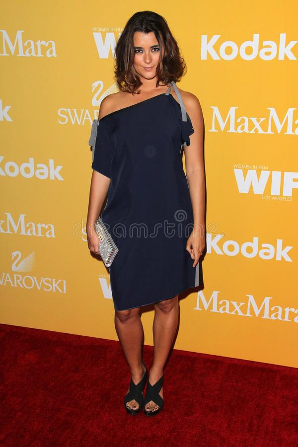 Download Cote De Pablo At The Women In Film Crystal + Lucy Awards 2012, Beverly Hilton Hotel, Beverly Hills, CA 06-12-12 Editorial Photo - Image: 25585546