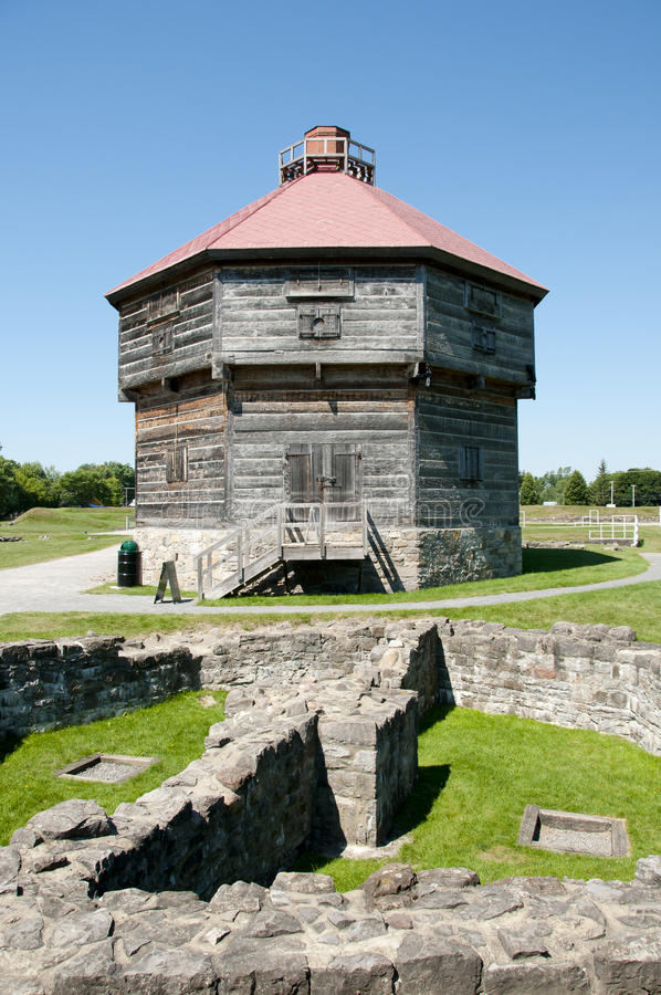 Free Coteau Du Lac Historic Military Fortifications - Quebec - Canada Stock Photo - 93374630