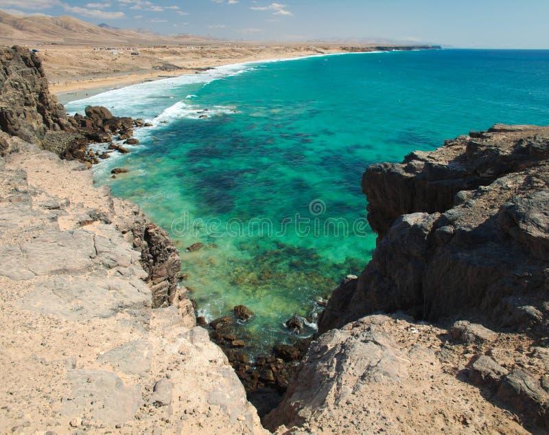 cotillo el fuerteventura fotografering för bildbyråer