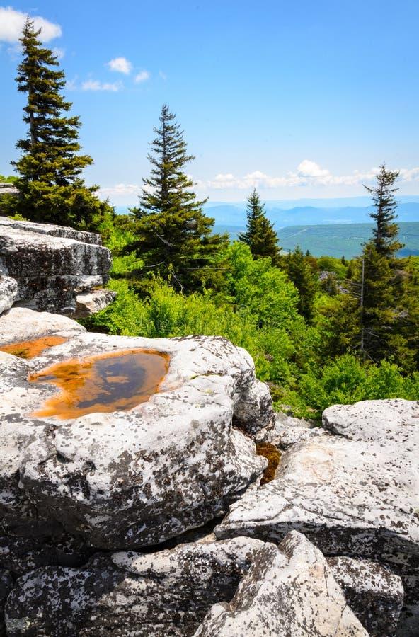 Coto de las rocas del oso imagen de archivo